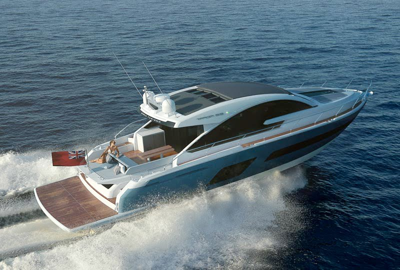 Fairline Targa 53GT makes its worldwide debut  at Southampton Boat Show