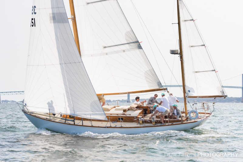 Ruweida V Wins Panerai Newport Classic Yacht Regatta