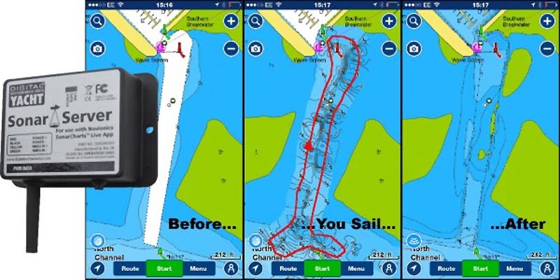 Build Better Charts with Sonar Server from Digital Yacht
