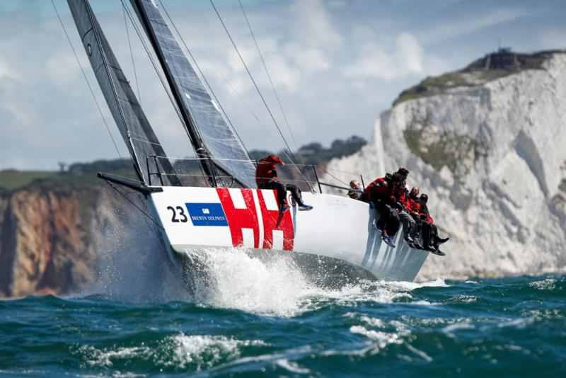 Brewin Dolphin Commodores' Cup - Close fought fight around the Wight