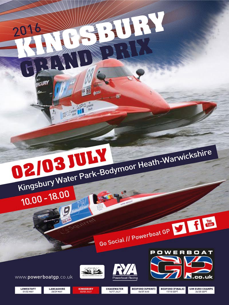 Powerboat GP goes into overdrive in mid-way season competition !