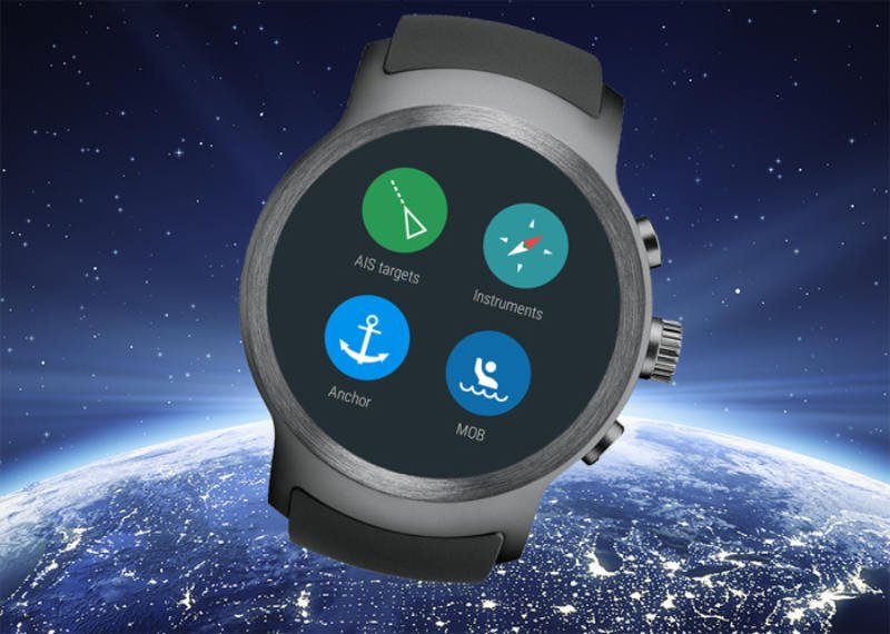 World's first application that relays AIS alerts and vessel data right to your wrist for immediate access to vital information