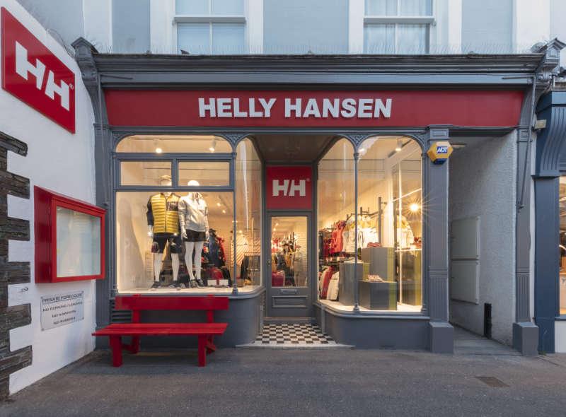 Helly Hansen unveils new store opening in Salcombe, UK