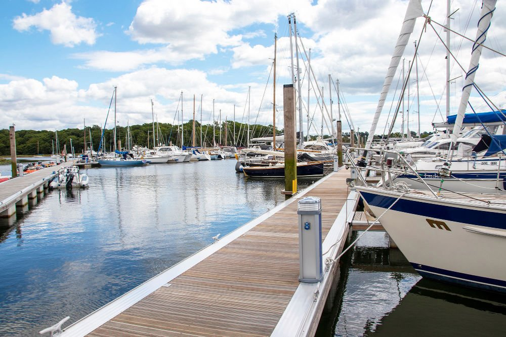 Phase 1 of Buckler's Hard Yacht Harbour redevelopment project completed in time for mid-summer