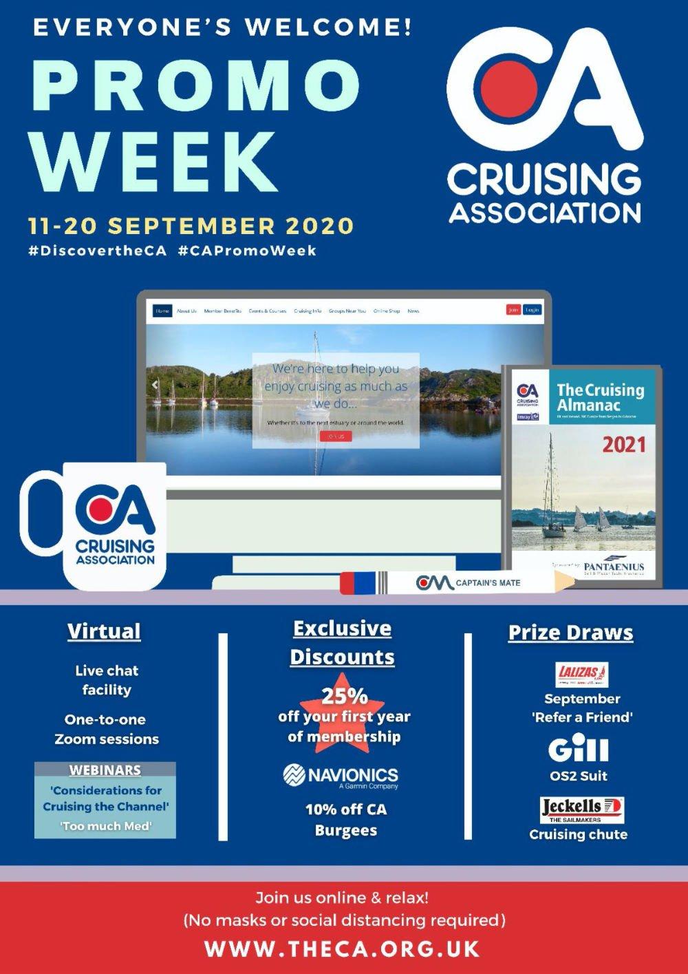 Cruising Association launches online Promo Week