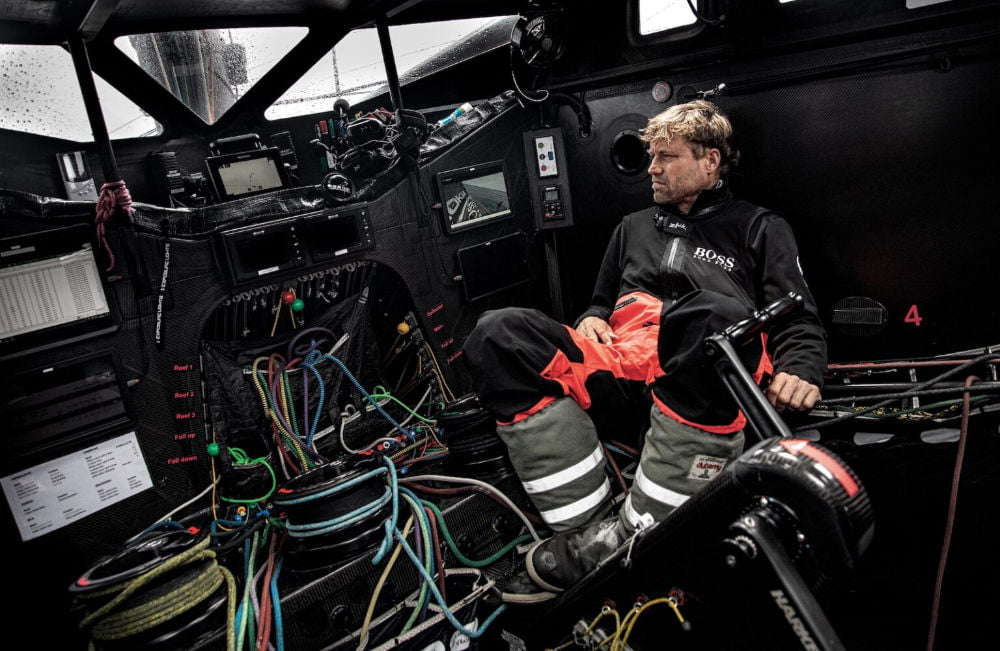 Alex Thomson ceases racing in the Vendee Globe 2020