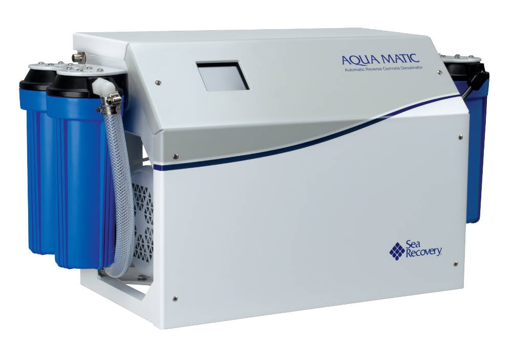 Fischer Panda UK offers a range of Parker Group watermakers to its leisure customers, including the Sea Recovery brand