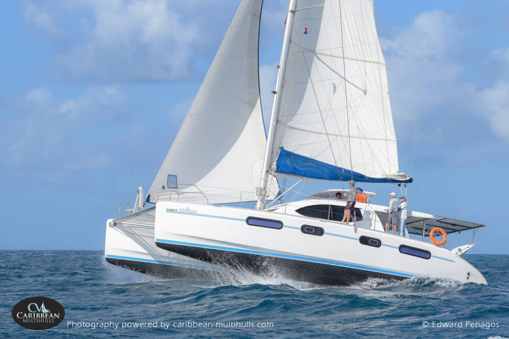 Wind, Speed and Smiles for Caribbean Multihull Challenge Final Day