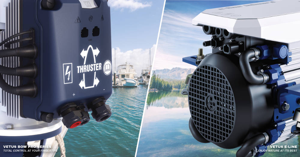 VETUS Certified as First Thruster Integrator for NMEA 2000