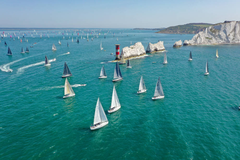 Celebrating 90 years of Britains favourite yacht race - Round the Island Race
