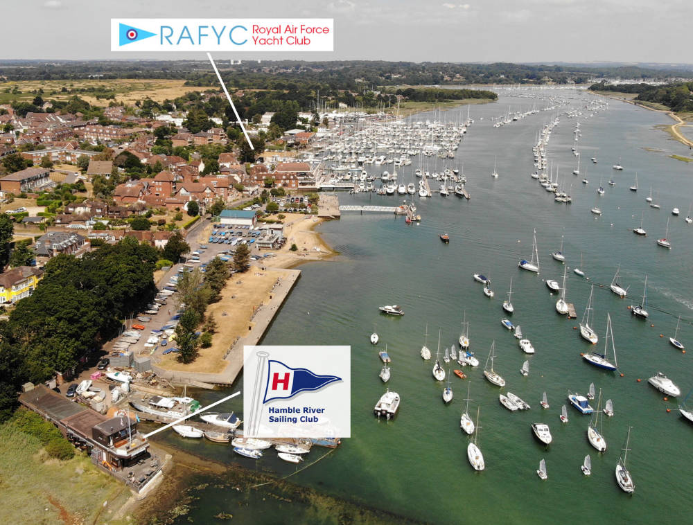 Come fly with us - RAFYC and HRSC join forces