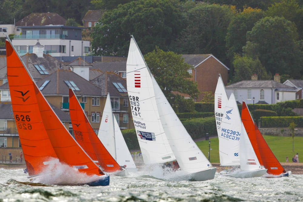 Round the Island Race - The Island Sailing Club launch Windeler Cup