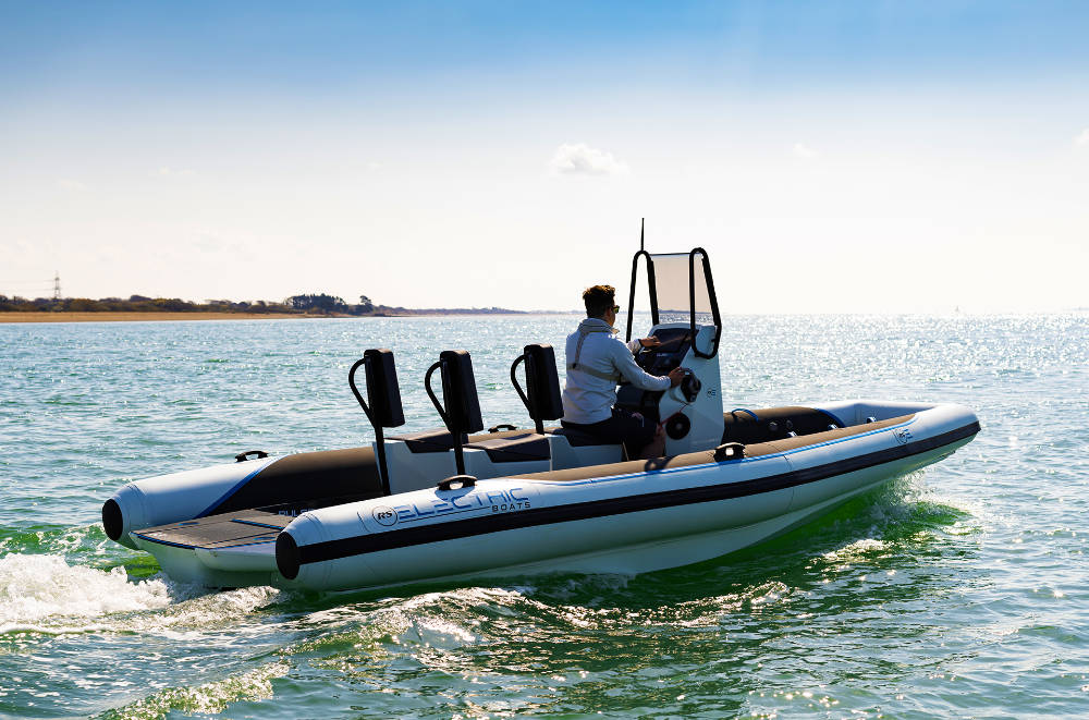 RS Electric Boats Develops Next Generation Electric RIB – The Pulse 63