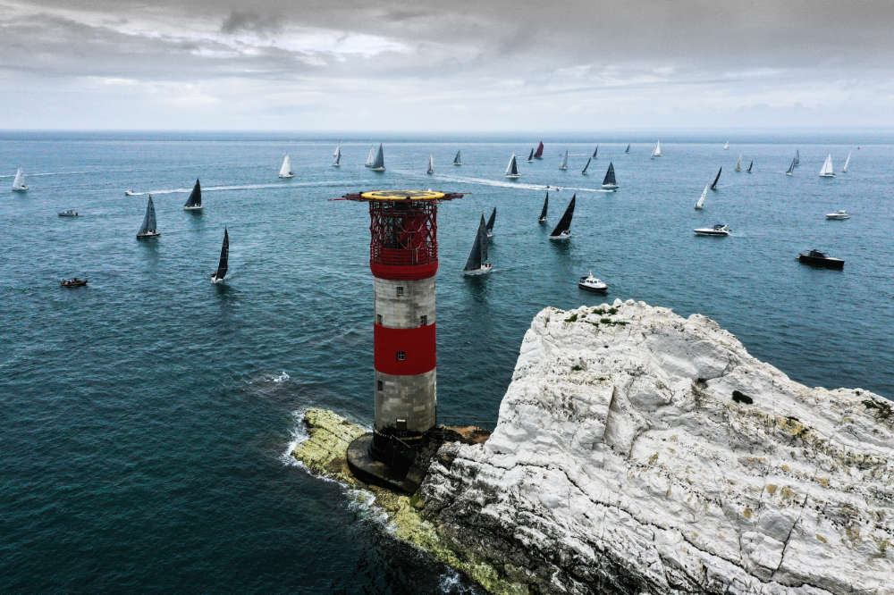 90th ANNIVERSARY OF ROUND THE ISLAND RACE