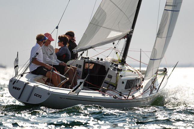 Cowes Week - Woof yacht