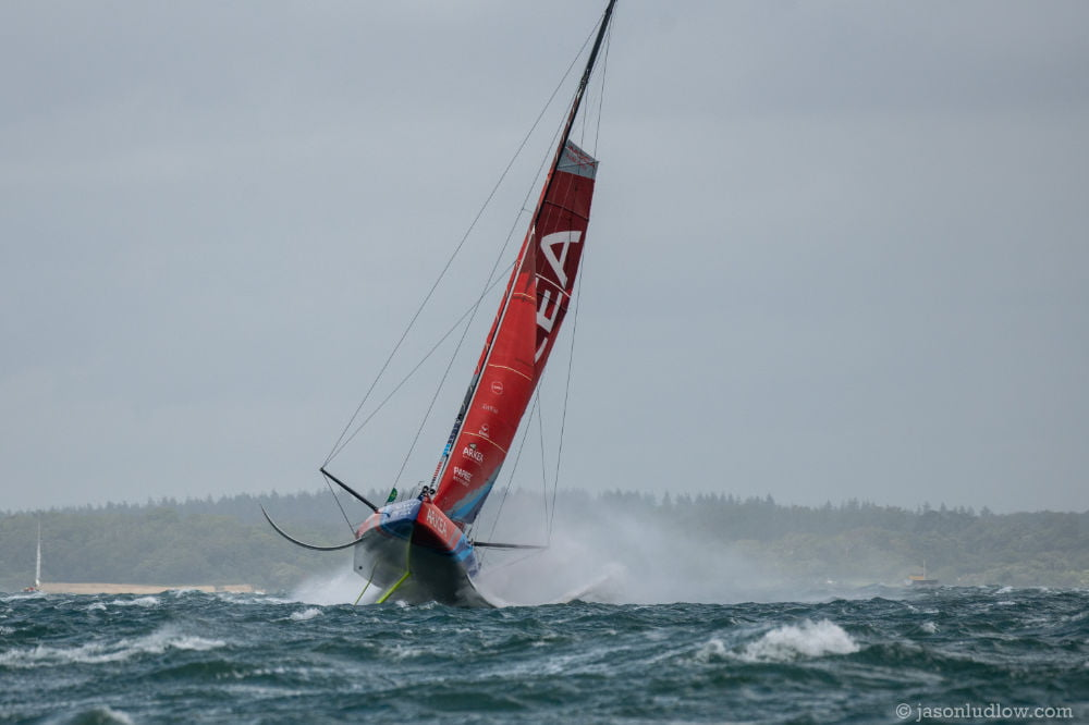 Lumpy Solent takes its toll as 49th Rolex Fastnet Race sets sail